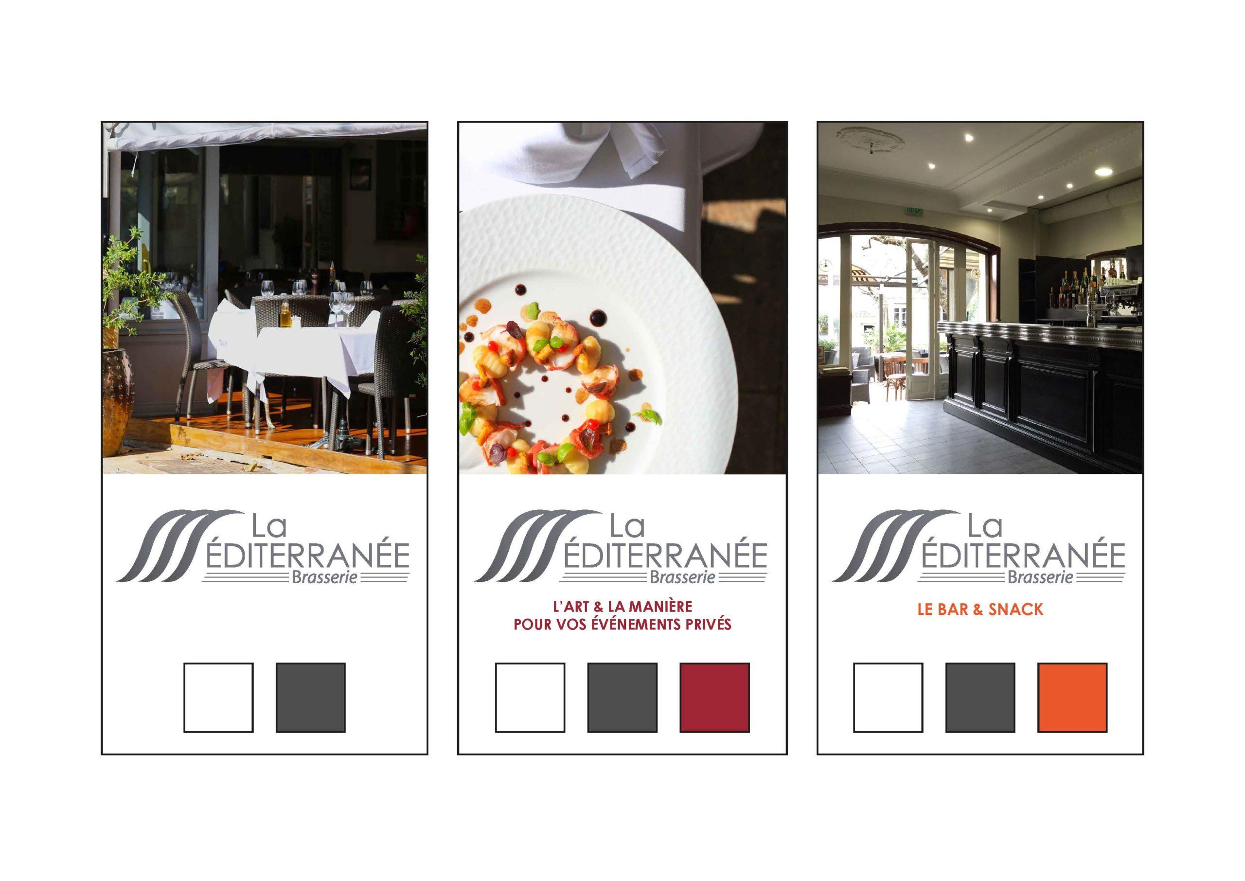 Charte graphique La Brasserie de la Méditerranée - 2015